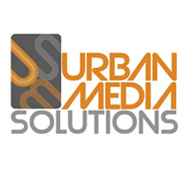 Urban Media Solutions Logo and Business Card Design