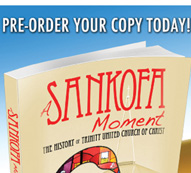 Sankofa book cover and promo