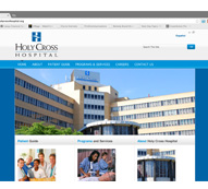 Holy Cross Hospital Website