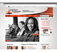 Solutions Associates Consulting Website