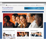 TransPorter Consulting Group WEbsite